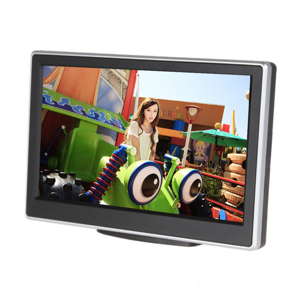 LCD display auto rear view backup Monitor Screen For parking reversing Anti-glare Blue Mirror Montior