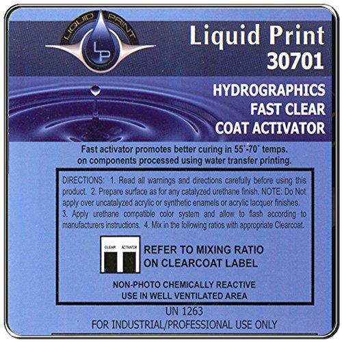 Fast Clear Hardener 1 Quart - Liquid Print Hydrographics Paint Supplies by Liquid Print
