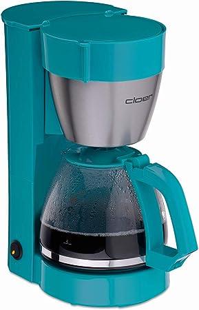Cloer 5017-3 Cafetera de filtro turquesa: Amazon.es: Hogar
