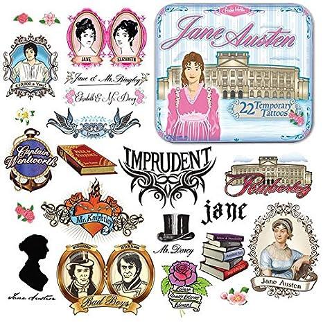 Jane Austen Tatuajes: Amazon.es: Juguetes y juegos