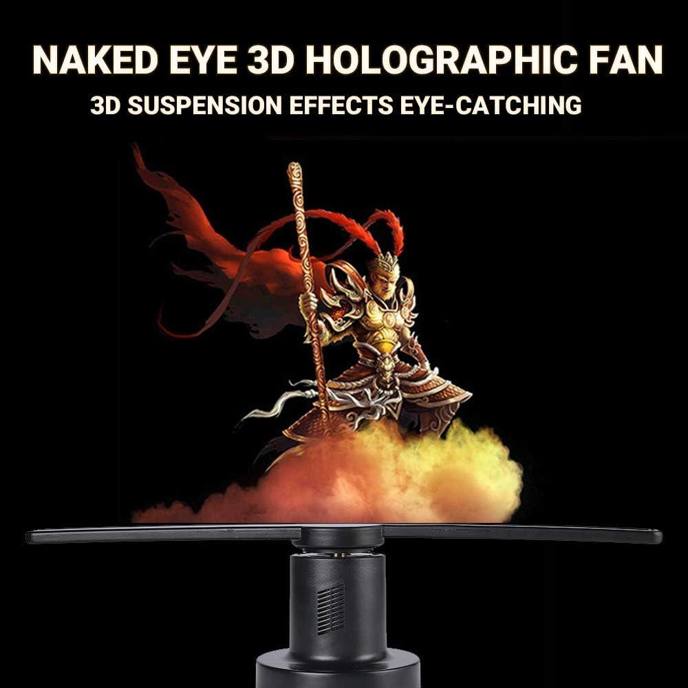 L-MIND 3D Holograma Publicidad Display Fan Holográfico con HD Dynamic Picture Video: Amazon.es: Oficina y papelería