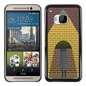 Dragon Case - FOR HTC One M9 - True love - Caja protectora de pl??stico duro de la cubierta Dise?¡Ào Slim Fit