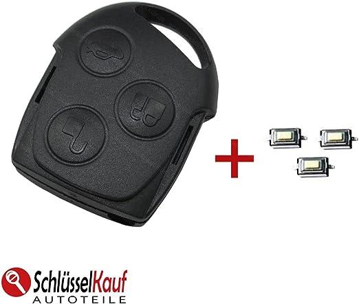 Ford Schlüsselgehäuse Funk Fernbedienung Schlüssel Elektronik