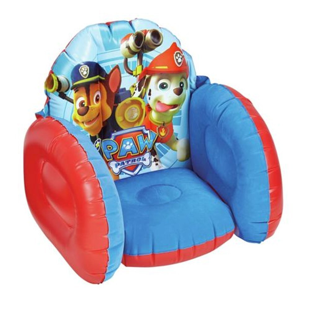 Paw Patrol Inflatable Flocked Chair: Amazon.co.uk: Toys & Games