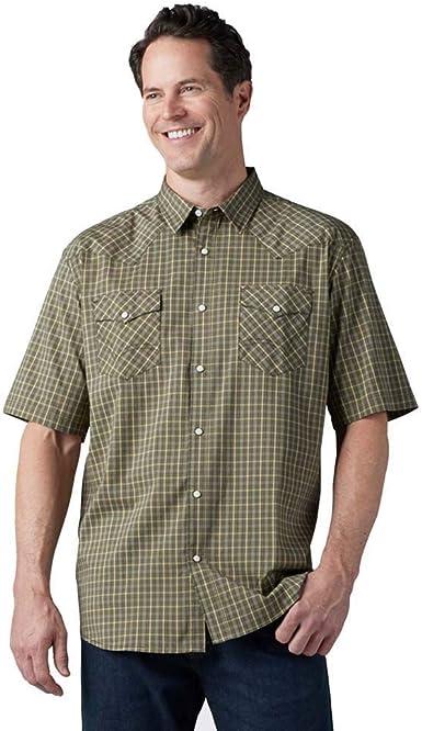 Dickies Short Sleeve Flex Western Shirt Camisa de botones ...