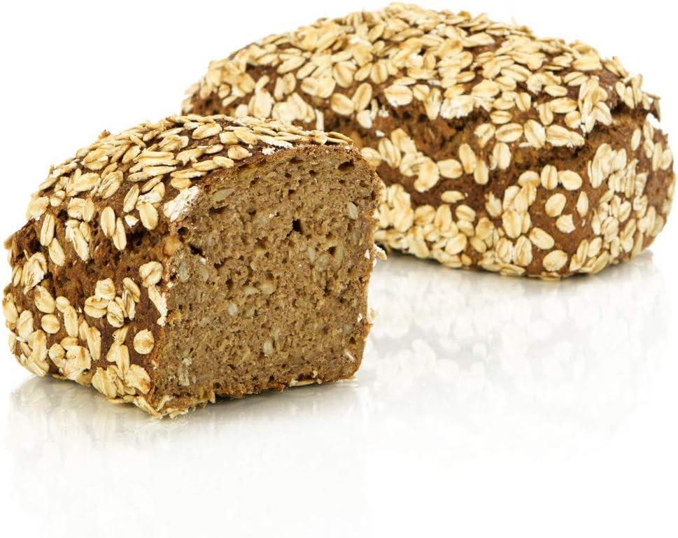 Pan de espelta autentico alemán 400 g - pan artesanal de Alemania, sin trigo, conservable por 14 días, horneado fresco en 10 minutos: Amazon.es: Alimentación y bebidas