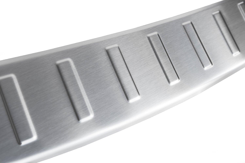 tuning-art BL921 Protection de seuil de Coffre de Chargement en Acier Inoxydable avec Profil 3D et Bord Arrondi