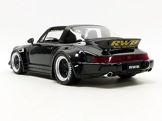Gt Spirit RWB 964 Targa 43118 Porsche, zm117, Negro, en Miniatura (Escala 1/18: Amazon.es: Juguetes y juegos