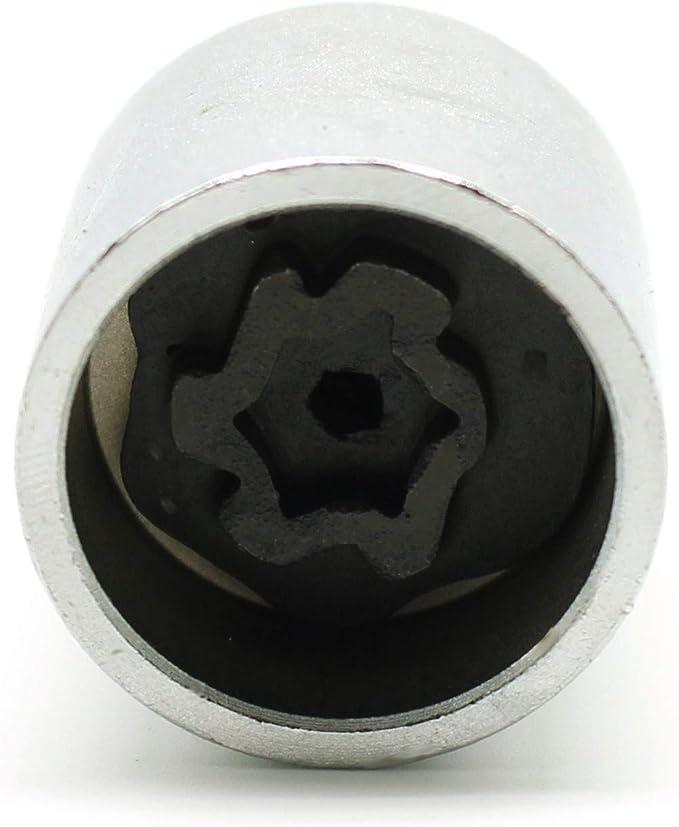 2001 Butzi Chrome Anti Theft Locking Wheel Bolt Nuts /& 2 Keys to fit Volkswagen Polo