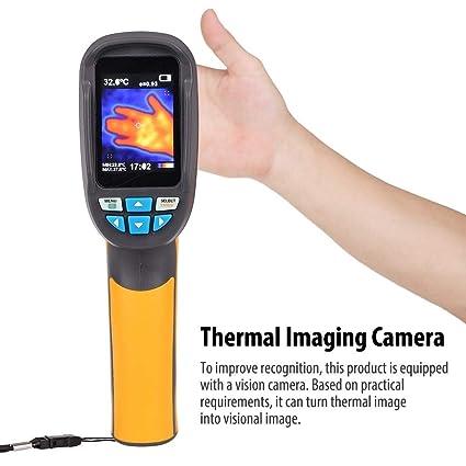 Handheld IR Thermal Imaging Camera, HT-02D Color Display