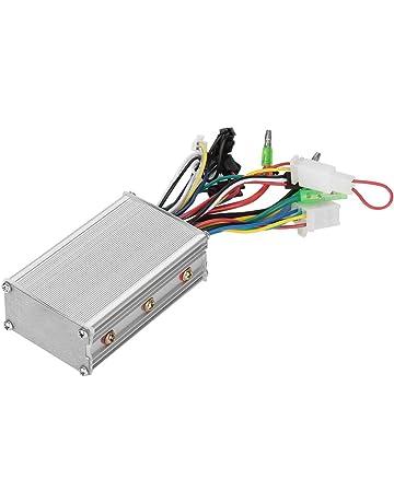 Dilwe Controlador sin Cepillo del Motor de 36V/48V 250W Controlador de Onda Sinusoidal de