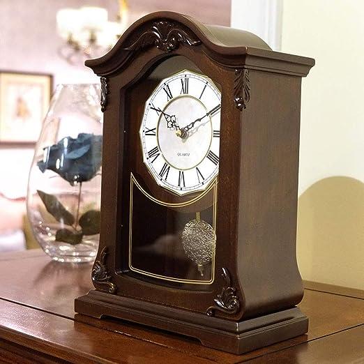 Relojes de mesa para escritorio, adornos antiguos, madera ...