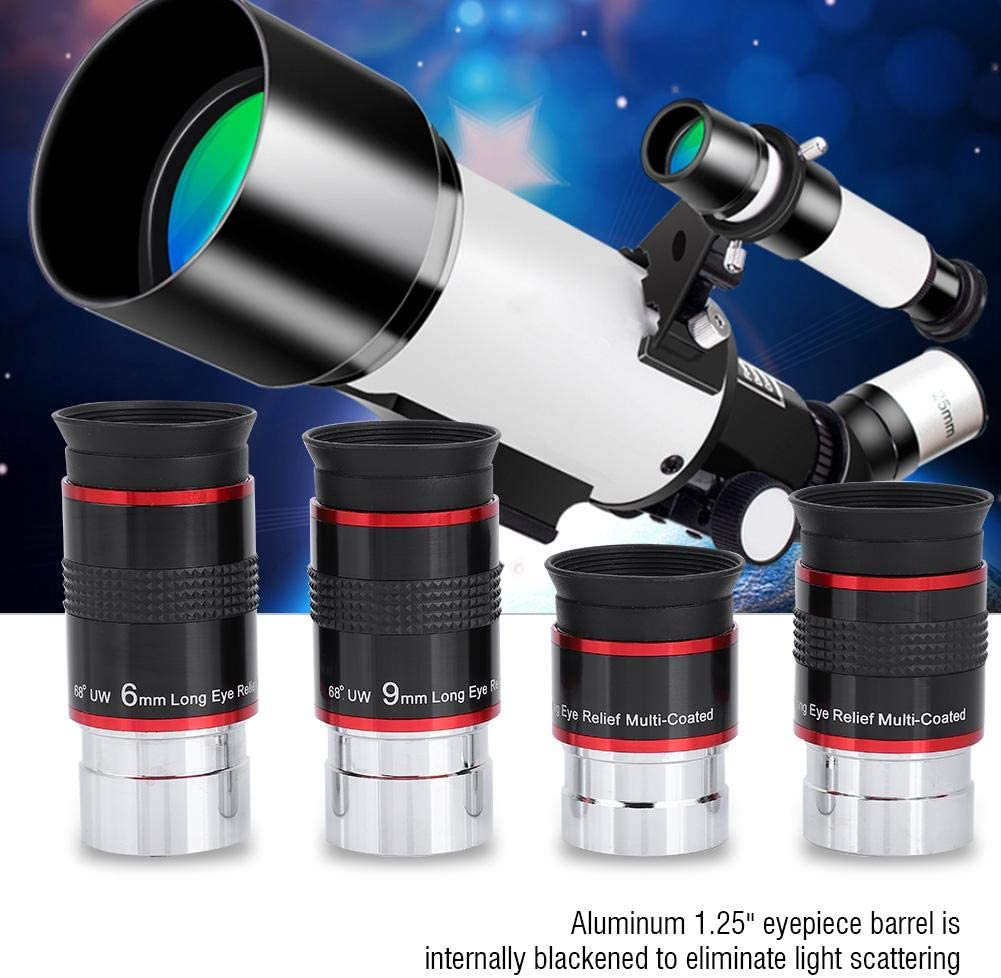 Neufday Astronomical Telescope 68 Degree Wide-Angle Eyepiece Assembly