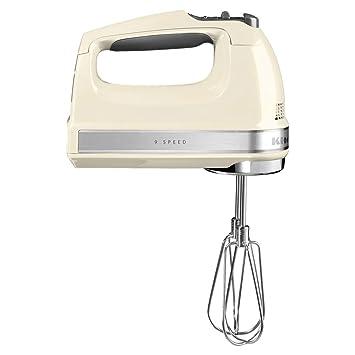 KitchenAid 5KHM9212EAC - Batidora de mano, 9 niveles de velocidad, color blanco: Amazon.es: Hogar