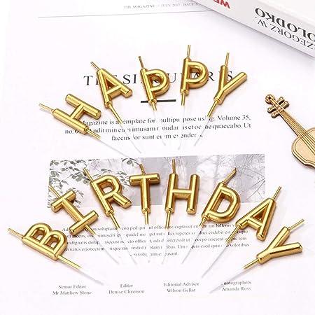 Hamkaw Velas para Tarta de cumpleaños, 13 Unidades ...