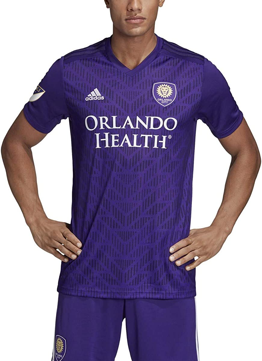 adidas MLS Men's Orlando City 2019 Bring The Noise Replica Team Jersey Purple