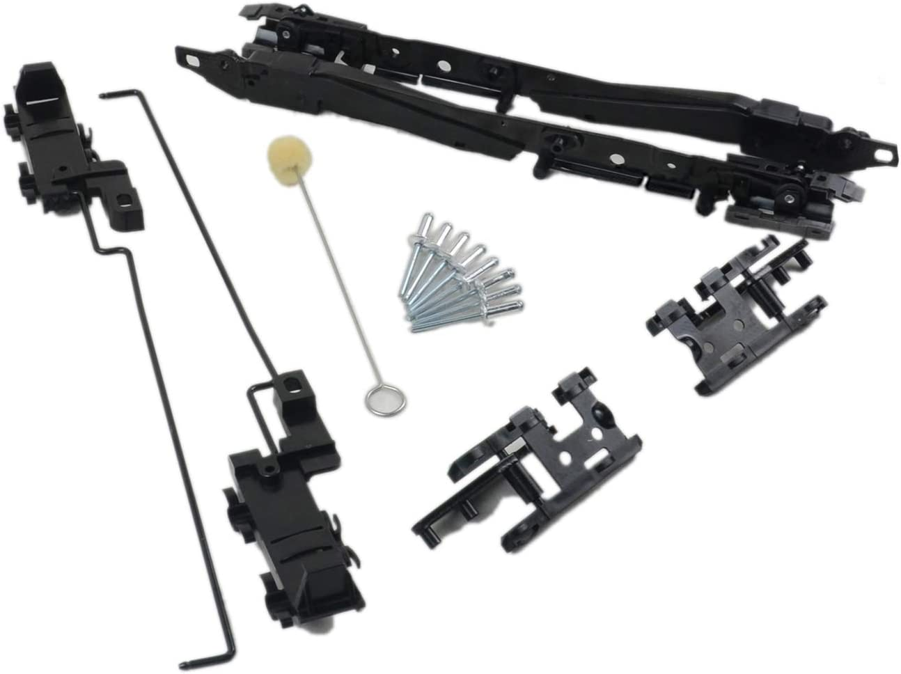 Sunroof Track Repair Kit for 2000-2014/Ford/F150 2000-2017/Ford/Expedition 2005-2016/Ford/F250/F350/F450/Super/Duty 2000-2017/Lincoln/Navigator 2006-2008/Lincoln/Mark/LT