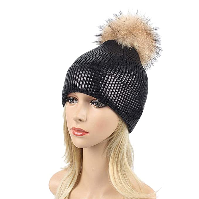 e135b5d299d Ealafee Winter Berets for Girls Womens Beanies Cloche Fedoras Warm Skull Hat  Winter Caps