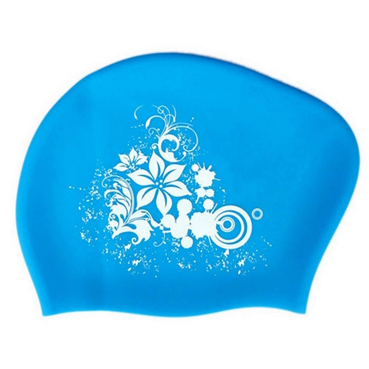 New Silicone Swimming Cap for Long Hair