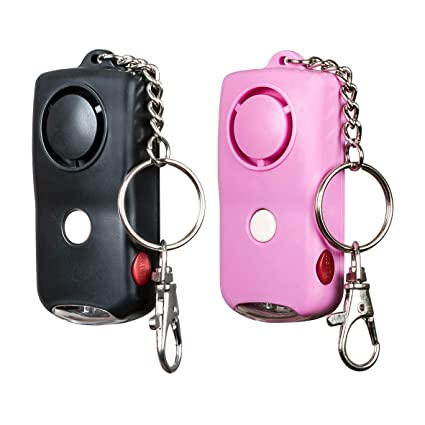 SOS Personal Alarm Keychain 130dB (2 Pack), Personal ...
