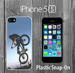BMX Life Bunny Hop Custom made Case/Cover/skin FOR iPhone 5/5s -White- Plastic Snap On Case ( Ship From CA)