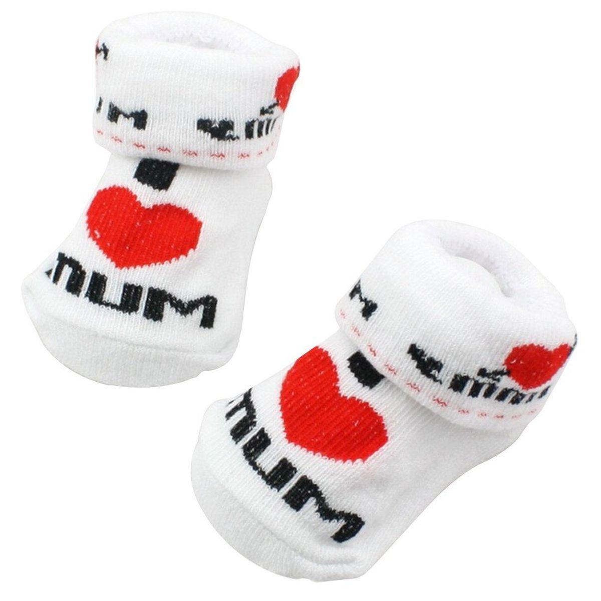 Ishua Baby Socken 0-24 Monate Baby Jungen Socken