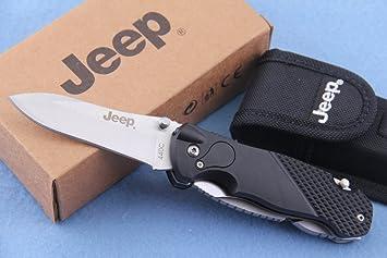 Jeep 801 - Navaja multifunción (con alicates, 440c)
