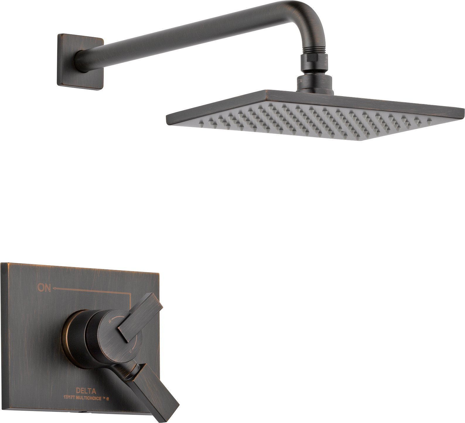 Delta Faucet T17253-RB Vero Monitor 17 Series Shower Trim, Venetian Bronze by DELTA FAUCET
