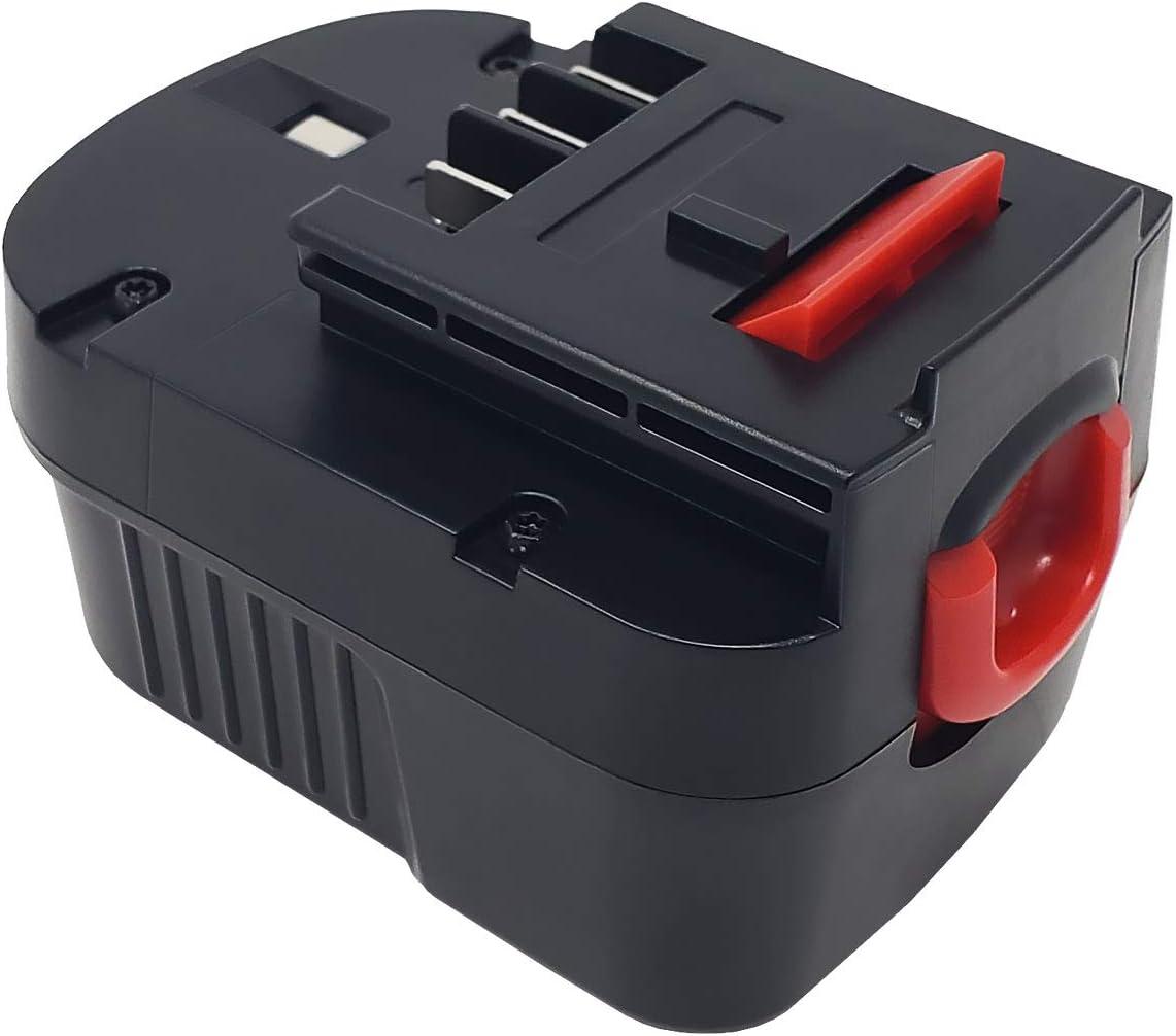 Factory Essentials 1.5 Ah 12 Volt Battery for Black & Decker HPB12 Replaces FSB12, FS120B, HPB1, A12, A12-XJ, A12EX   Ni-CD