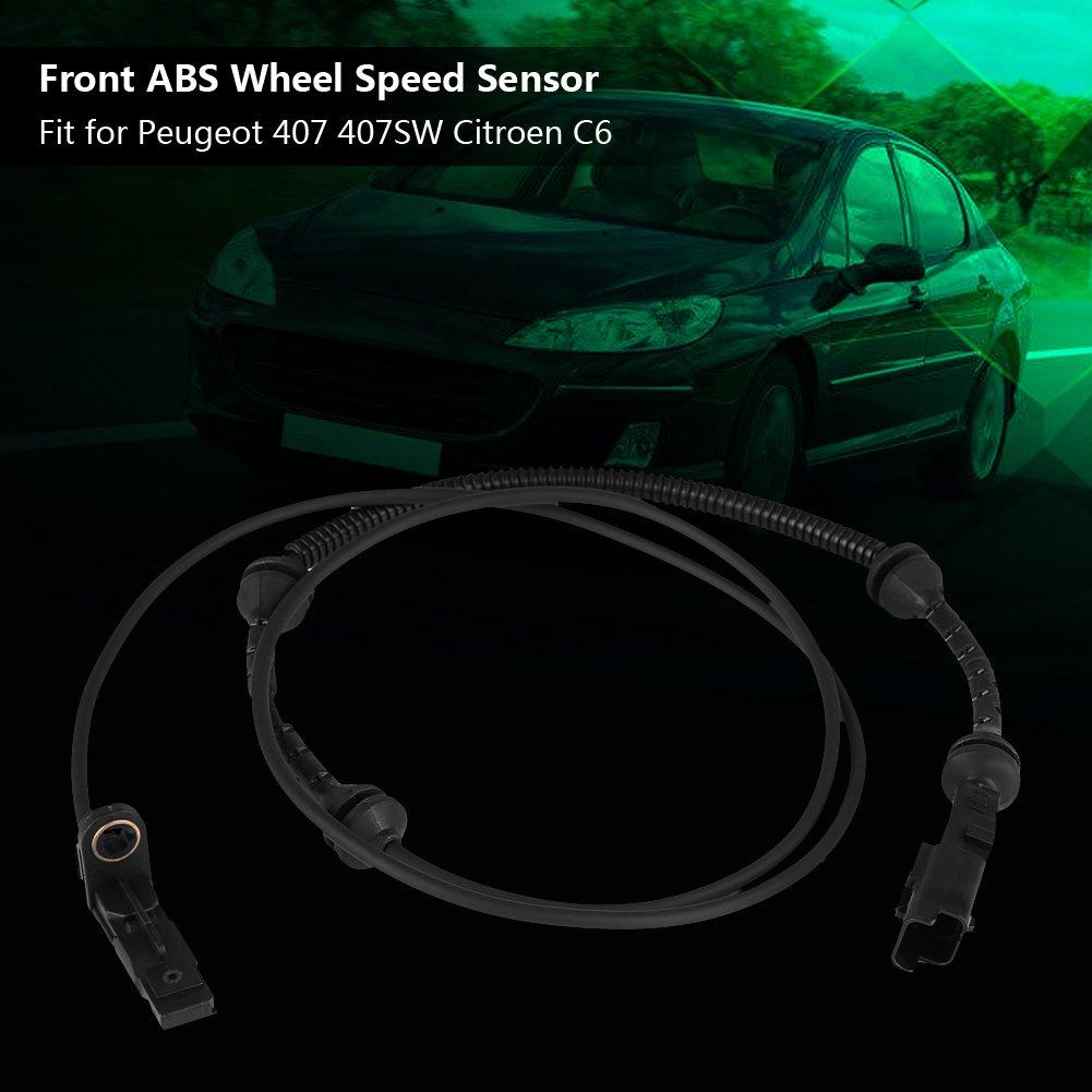 2x ABS Wheel Speed Sensors Front Fits Audi TT 2.0 TFSI Mk2