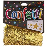 Beistle CN071 Gold Stars Confetti, 1/2-Ounce