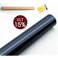 Car Home Window Tint Film Black Roll 15% VLT 760mm*7m Tilting Auto House 5%/15%/30%/35%