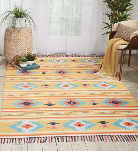 Nourison  Baja Tribal Area Rug 5 7 Feet, 5'x7' , ()