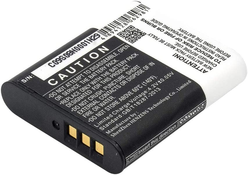 1200mAh//4.44Wh 3.7V Camera Battery Compatible With OLYMPUS Powers Stylus SP-100 SH-50 his Stylus XZ-2 Stylus XZ-2 his Stylus XZ-2 iHS TG-1 TG-Tracker Tough TG-1 Tough TG-1 His Tough TG-1 iHS Tough TG