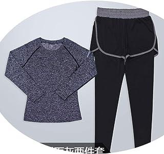 Yoga cloth Abbigliamento Sportivo da Donna, Autunno e Inverno, Due Pezzi di Abbigliamento Sportivo ad Asciugatura Rapida