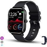 ANNA TOSANI Smartwatch Reloj Inteligente Pulsera de Actividad - Incorporado Altavoz y Micrófono compatible con llamadas Telef