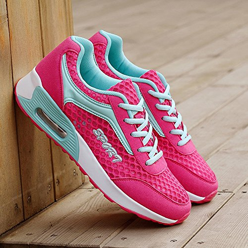 YG608meihong35 US Air 5 Women Rose Walking Sneakers Shoes Max Fashion M EnllerviiD Mesh Sports Running B ZZf7qprwc