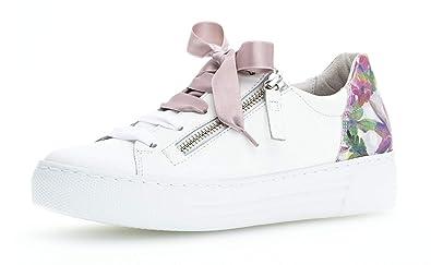 best shoes good quality temperament shoes Gabor Damen Sneaker 26.466, Frauen Low-Top,Business  Sneaker,Halbschuh,Schnürschuh,Strassenschuh