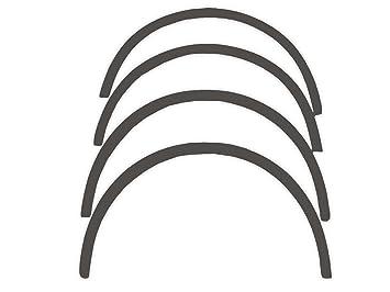 R.S.N. 513 para pintar, rueda arcos, Fender tapacubos extensiones, para óxido: Amazon.es: Coche y moto