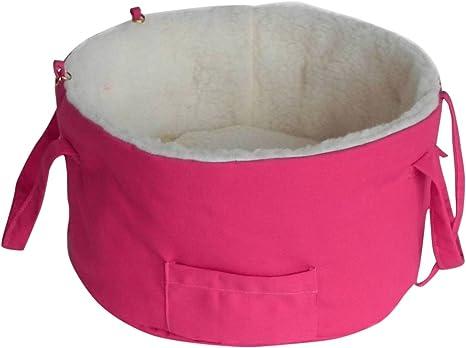 Cama para Perro/Cama, con trabilla para cinturón de Seguridad para Coche, Carro de la Compra/Cama para Perros pequeños, 6 Opciones de Colores, Cama para Mascotas/Cama/Camarero: Amazon.es: Productos para mascotas