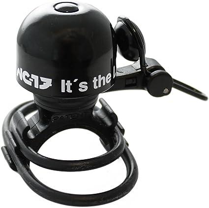 Nc-17 Safety Bell Vélo Sonnette Noir