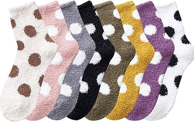 Fascigirl Calcetines de Navidad 6 Pares Calcetines Navidad Mujer Calcetines Termicos Mujer Invierno Calcetines Se/ñora Navidad Calcetines para Ni/ña Regalo Navidad