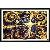 Doctor Who - Exploding Tardis Framed Poster 38 x 26in