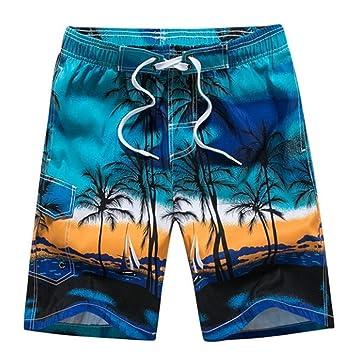 MJTCJY Pantalones Cortos De Natación For Hombre De Secado ...