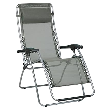 High Quality Lafuma RSX Mesh Recliner, Forest