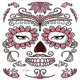 zgmtj Halloween masquerade funny tattoo sticker 9 210 * 150mm