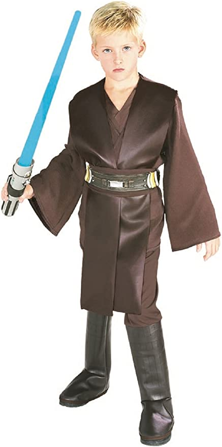 Garçons Anakin Skywalker Jedi Knight star wars movie film Kids Fancy Dress Costume