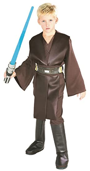 Rubbies - Disfraz de Anakin Skywalker Star Wars para niño, talla M (5-7 años) (882017_M)