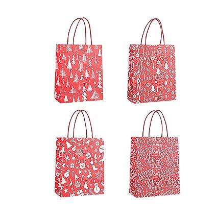 Bolsas de papel para caramelos para Navidad, bolsas de papel ...