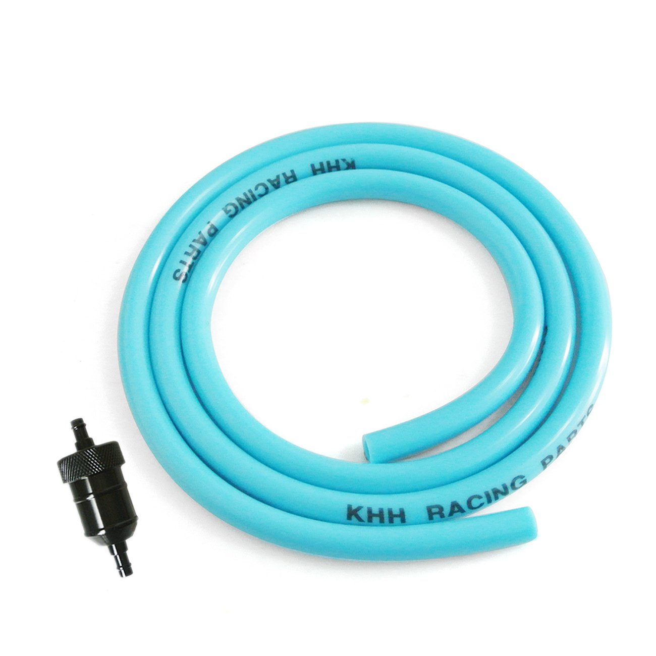 "for Yamaha Blue Aluminum Fuel Filter Reusable 1//4 5//16/"" Petrol Gas Line Washable"